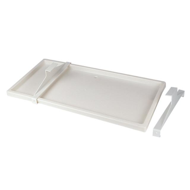Bac à condensats PVC blanc 790 x 390mm