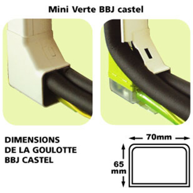 Pompe de relevage MINI VERTE Castel