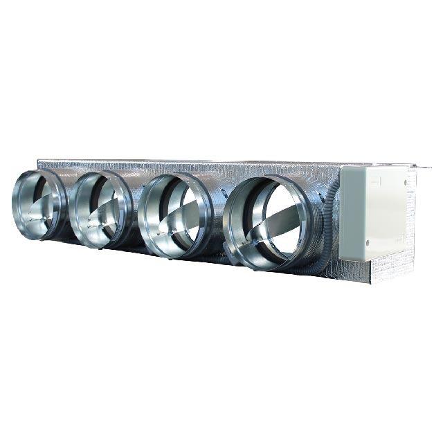 2 plénums medium pour Toshiba 4x200+R1X250