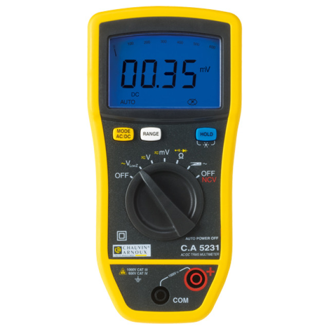 Multimètre CA 5231 kit